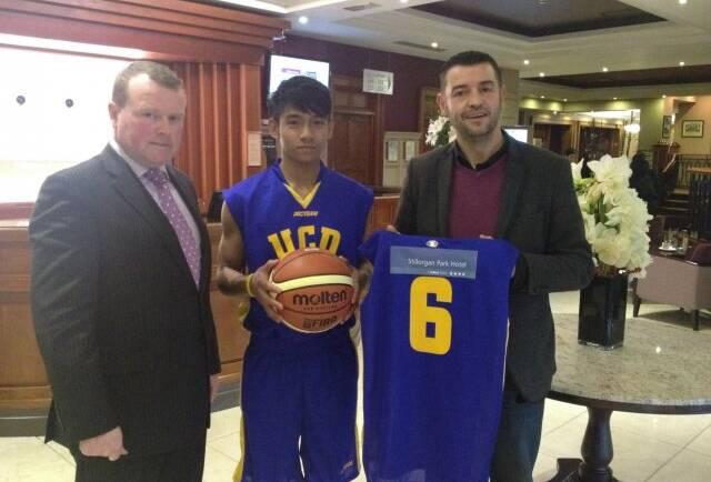SPONSORING UCD MARIAN U18 BASKETBALL TEAM